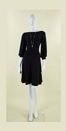 Šaty - Šaty s výstrihom na chrbte.... - 4762309_
