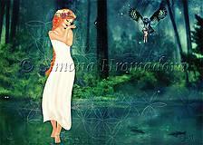 Grafika - Madonna - Chodenie po vode A2 Print - 4759696_