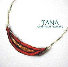 Náhrdelníky - Tana šperky - keramika/zlato - 4759838_