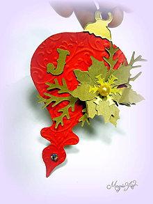 Dekorácie - Vianočné ozdoby: