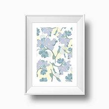 Grafika - Artprint // nezábudka - 4761462_