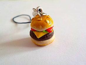 Na mobil - hamburger privesok - 4760903_