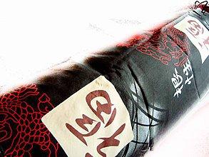 Úžitkový textil - _HAJA & DoTyK Ázie... (bočný vankúš) 170 cm - 4765478_