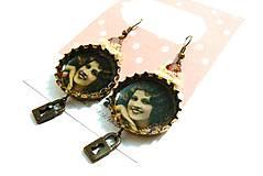 Náušnice - Vintage lady - 4768230_