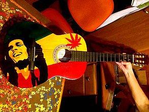 Hudobné nástroje - Gitara - Bob Marley - 4765949_