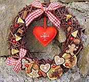 Vianoce - S červeným srdiečkom.. - 4767592_