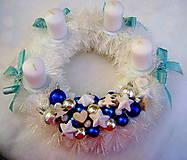 Vianoce - Belasý s kráľovskou modrou - 4767677_