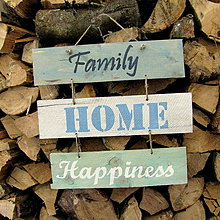 Tabuľky - Family HOME Happiness - 4769653_