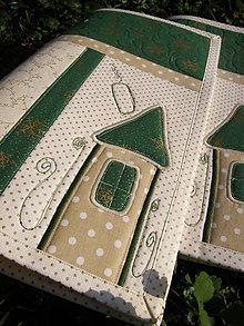 Úžitkový textil - Vianočné prestieranie No.7 :) - 4765743_
