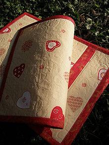 Úžitkový textil - Vianočné prestieranie No.9 :) - 4766201_
