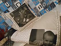 Úžitkový textil - deka s fotkami -  s Vašimi  spomienkami - na objednávku - 4775678_