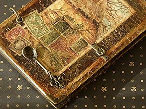 Papiernictvo - Zápisník,alebo receptár Home sweet home - 4771101_