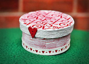 Krabičky - Lots of love - krabička - 4775436_