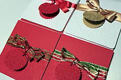 Papiernictvo - Obal na CD/DVD + fotky Vianočný - 4779309_
