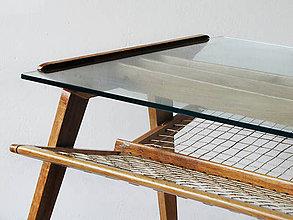 Nábytok - Dubový stolek - 4780405_
