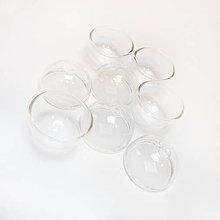 Komponenty - Polguľa sklenená / 30mm - 4776329_