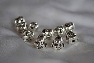 Korálky - Korálka budha, 0.35€/ks - 4777495_