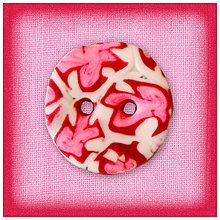 Galantéria - Ružový gombík 1 NA ZÁKAZKU - 4778003_
