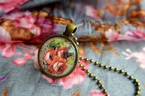 2ec648364 Červené ruže / Ilze - SAShE.sk - Handmade Náhrdelníky