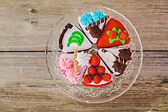 Hračky - Sada na tvorenie- torta SOfia - 4781365_