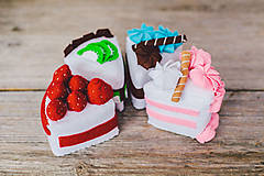 Hračky - Sada na tvorenie- torta SOfia - 4781367_