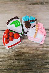 Hračky - Sada na tvorenie- torta SOfia - 4781371_
