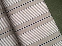 Textil - Dekoračná látka - pásik - 4782278_