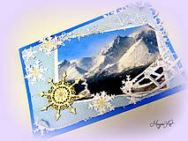 Papiernictvo - Zasnežené hory... - 4784190_