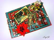 Papiernictvo - Vianoce v Škótsku... - 4784226_