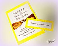 Papiernictvo - Kartičky k svad. oznámeniu: