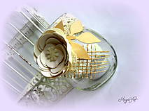 Svietidlá a sviečky - Vintage lampášik I. - 4784942_