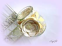 Svietidlá a sviečky - Vintage lampášik I. - 4784943_