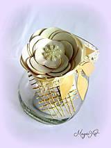 Svietidlá a sviečky - Vintage lampášik I. - 4784949_