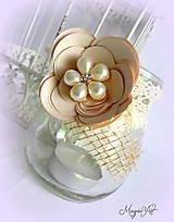 Svietidlá a sviečky - Shabby Chic lampášik II. - 4785098_