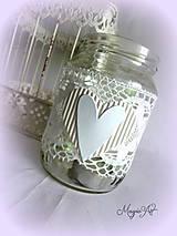 Svietidlá a sviečky - Svadobný svietnik I. - 4785307_