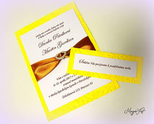 Kartičky k svad. oznámeniu: