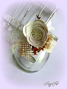 Svietidlá a sviečky - Vintage christmas lampášik - 4785066_