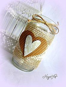 Svietidlá a sviečky - Vintage lampášik II. - 4785144_