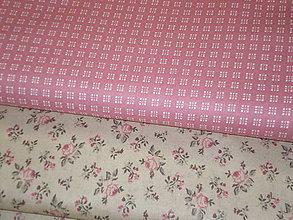 Textil - Kocka dvojitá staroružová š. 140cm - 4781612_