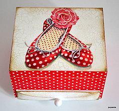 Krabičky - Balerínky - 4785962_