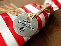 Iné doplnky - AKCIA! Vianočné visačky na milé balíčky / sada 3ks - 4793122_