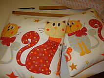 Úžitkový textil - vankúšiky  na želanie:)mačičky - 4793460_