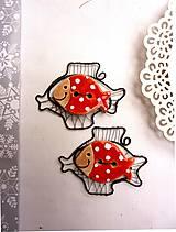 Vianoce - rybka bodkovaná usmievavá - 4790881_