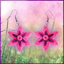 Náušnice - Náušnice kvety 2 NA ZÁKAZKU - 4791342_