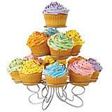 Kovový 3-poschodový stojan na muffinky, koláčiky ale aj na Vaše výtvory :)