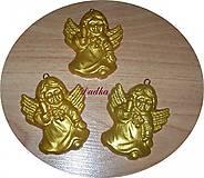 Vianoce - Anjeliky na stromček  - 4796191_