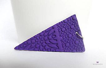 Náhrdelníky - Geometrická mozaika - 4802474_
