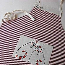 Iné oblečenie - KOČIČÍ TULENÍ - zástěra - 4800918_