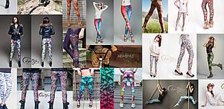Nohavice - Legíny AIDASTYLE už aj vo veľkosti L/XL - 4802004_