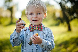 Detské doplnky - Detský motýlik - šašo jašo - 4805038_